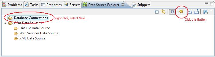 how to use database in java eclipse